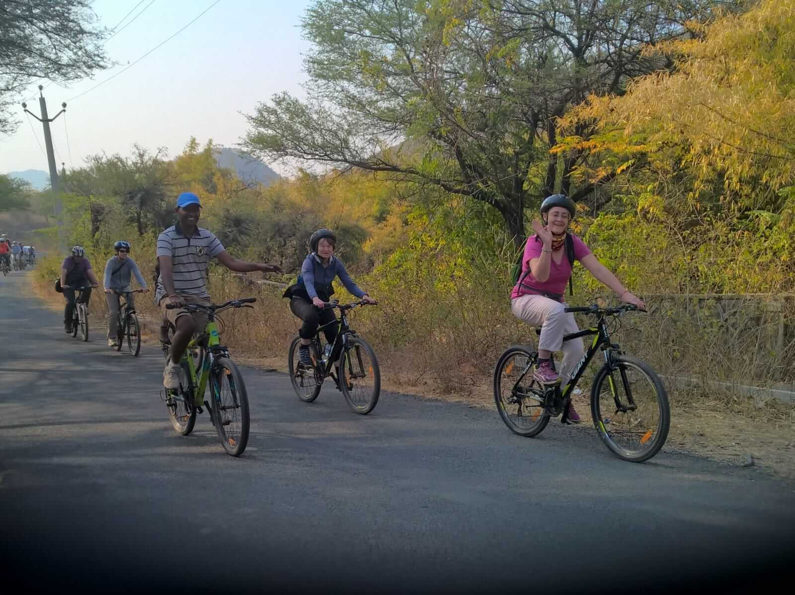 Bicycling in Udaipur